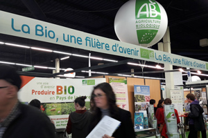 Point info conseil BIO au Sival