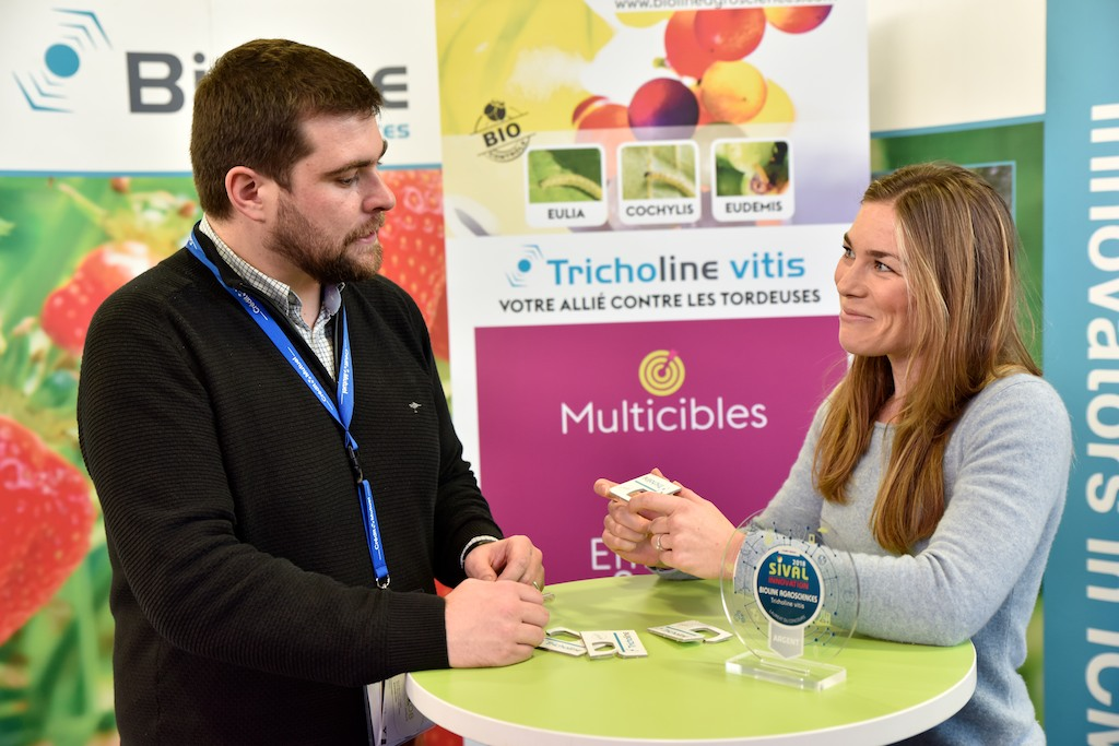 CONCOURS SIVAL INNOVATION - BIOLINE AGROSCIENCES - Tricholine vitis